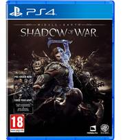 Đĩa Game PS4: Middle-Earth Shadow of War - hệ EU
