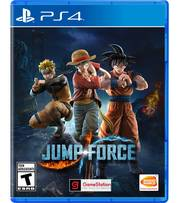 Đĩa Game PS4: Jump Force - hệ Asia