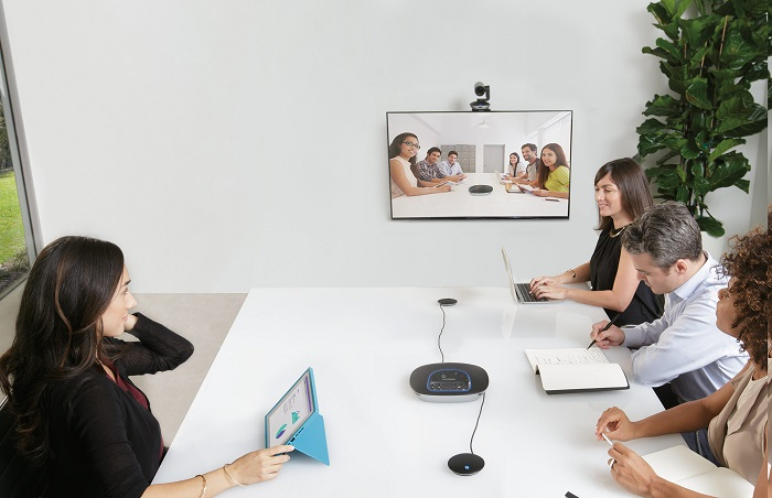1 Camera hội nghị trực tuyến Logitech Group, web video conferencing Logitech Group